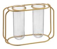 Vaso em Vidro Rabaiolli - Dourado | WestwingNow