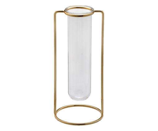Vaso em Vidro Giela ll - Dourado, Dourado | WestwingNow