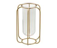 Vaso em Vidro Chiarion - Dourado | WestwingNow