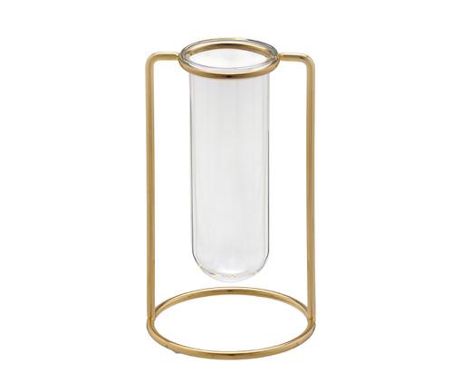 Vaso em Vidro Giela l - Dourado, Dourado   WestwingNow