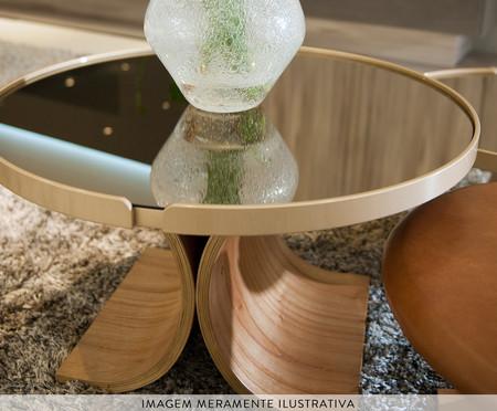 Mesa de Centro Redonda Arbo - Bronze | WestwingNow