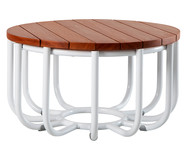 Mesa Lateral Cesta - Natural   WestwingNow