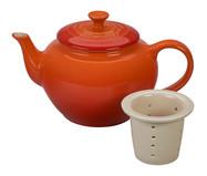 Bule para Chá com Infusor - Laranja   WestwingNow