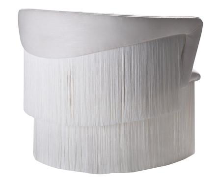 Poltrona Wind com Franjas - Branco | WestwingNow