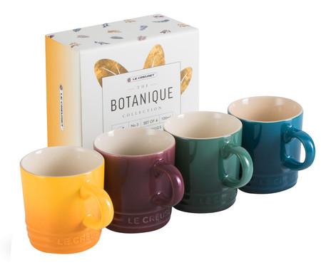 Jogo de Canecas para Chá em Cerâmica - Botanique | WestwingNow