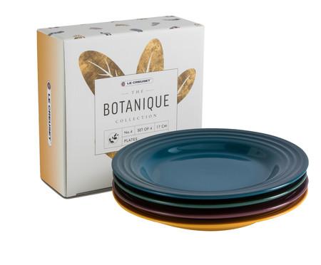 Jogo de Pratos para Aperitivo em Cerâmica - Botanique | WestwingNow