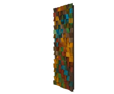Quadro de Madeira 3D Ashtar - 35X90cm | WestwingNow