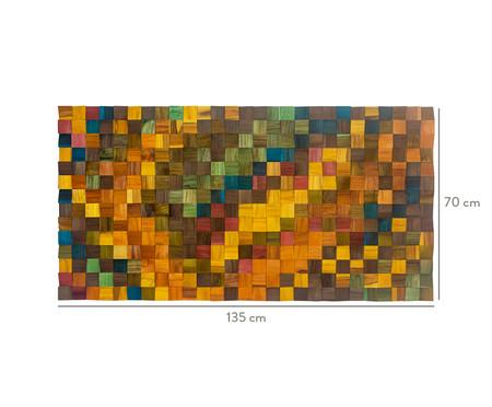 Quadro de Madeira 3D Fantasy - 135X70cm   WestwingNow