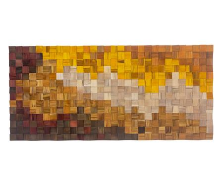 Quadro de Madeira 3D Aghata - 150X70cm   WestwingNow
