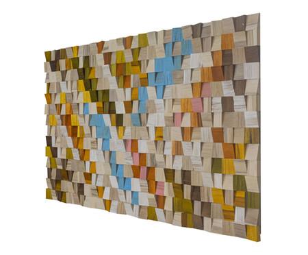 Quadro de Madeira 3D Kordelle - 135X70cm | WestwingNow