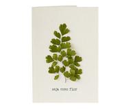 Cartão Seja Como Flor Avenca | WestwingNow
