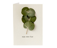 Cartão Seja Como Flor Eucalipto | WestwingNow