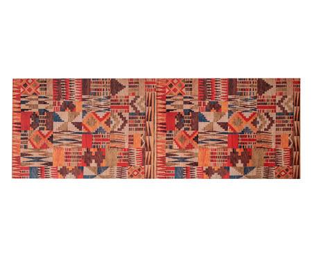 Tapete Passadeira Emborrachada Tribal - Colorido | WestwingNow