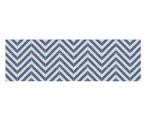 Passadeira PVC Joelle, Azul | WestwingNow