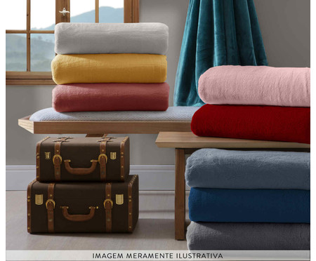 Cobertor Soft Super Branco - 300G/M² | WestwingNow