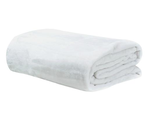 Cobertor Soft Super 300 g/m² - Branco, Branco | WestwingNow