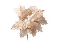 Flor Poinseta Decorativa Matt   WestwingNow