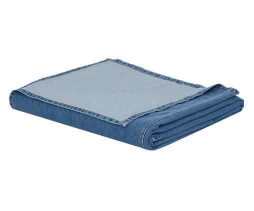 Cobre-Leito Jeans, Azul, Colorido | WestwingNow