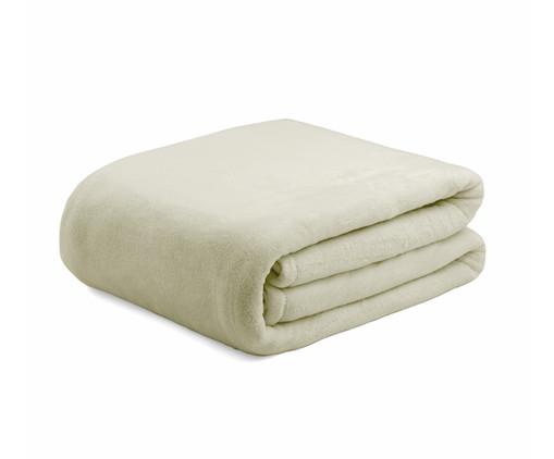 Cobertor Soft Raschel Pérola - 340 g/m², Branco, Colorido | WestwingNow