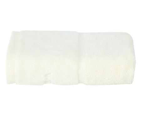 Jogo de Toalhas para Lavabo Duo Bord - Off White e Rosê | WestwingNow
