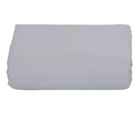 Lençol Inferior com Elástico Naturalle Cinza - 300 Fios | WestwingNow
