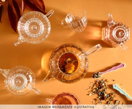 Caneca com Infusor em Inox Sintra - Transparente | WestwingNow