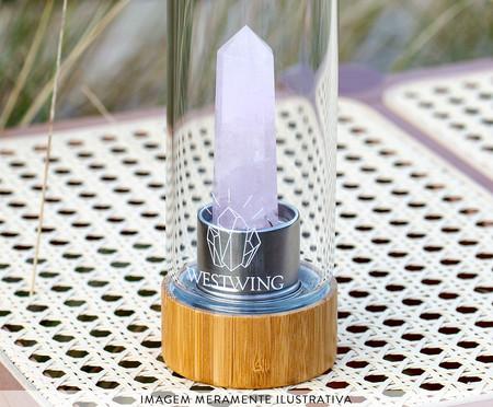 Garrafa Quartzo Transparente - 500ml | WestwingNow