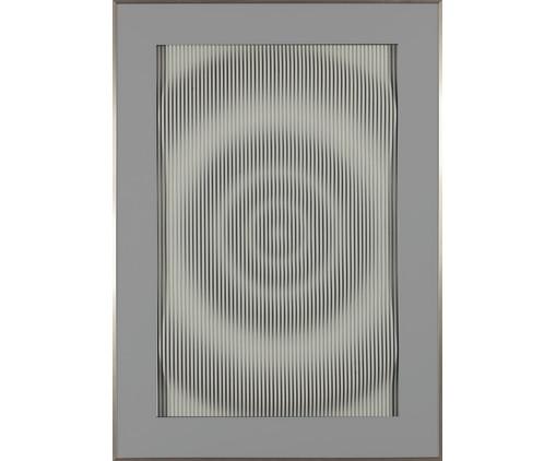 Quadro com Vidro Gota - 141x101cm, Multicolorido | WestwingNow