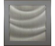 Quadro com Vidro Relevos July - 123x123cm | WestwingNow