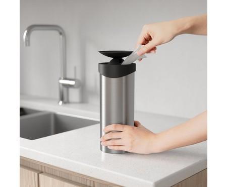 Dispenser para Lenços Umedecidos Desinfetantes - Prata | WestwingNow