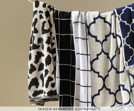 Toalha de Rosto em Fio Tinto Stripes | WestwingNow