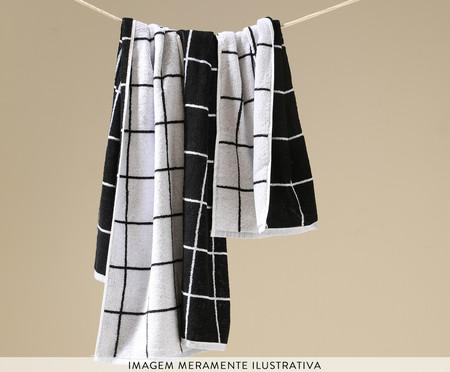 Toalha de Rosto em Fio Tinto Grid | WestwingNow