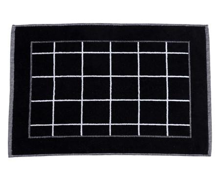 Tapete de Banheiro em Fio Tinto Grid | WestwingNow