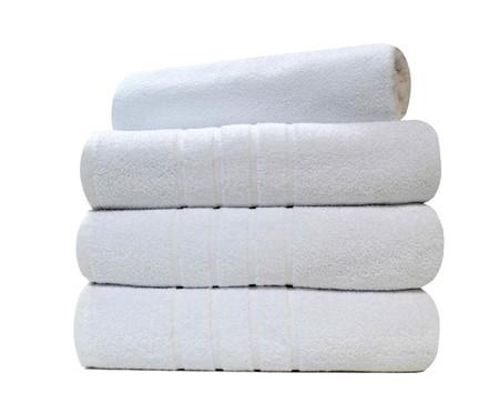 Toalha de Banho em Algodão Hotelaria 500 g/m² - Branca | WestwingNow