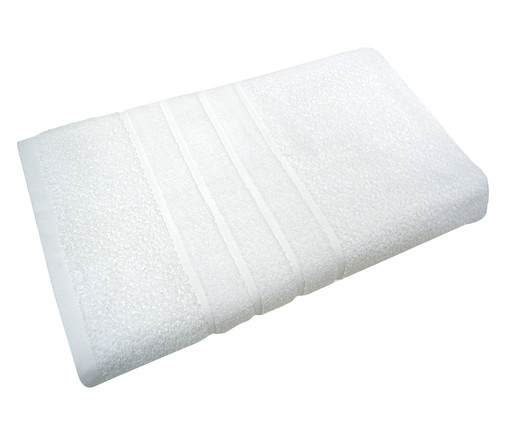 Toalha de Banho Hotelaria Branca - 500g/m², Branco | WestwingNow