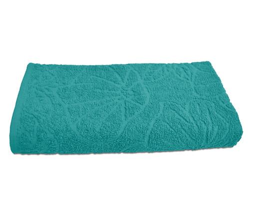 Toalha de Banho Jacquard Turquesa - 400g/m², Azul | WestwingNow
