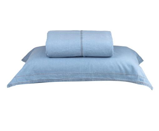 Jogo de Cobre-Leito Summer Jeans - Azul, Azul   WestwingNow