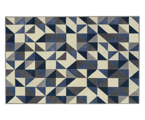 Tapete Supreme Ladrilho - Azul, Azul | WestwingNow