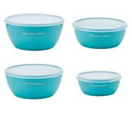 Jogo de Bowls para Preparo Agnes - Azul | WestwingNow