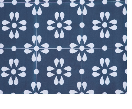 Tapete Passadeira Vinílico Pomar - Azul | WestwingNow