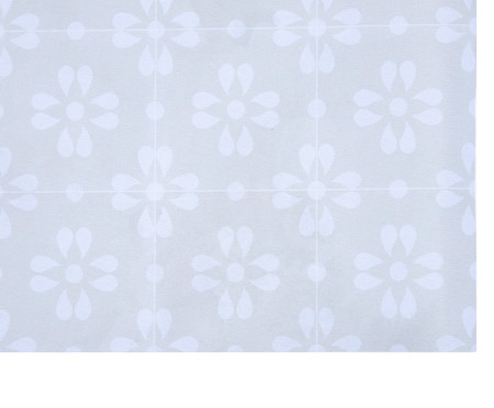 Tapete Pequeno Vinílico Pomar - Branco | WestwingNow