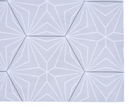 Tapete Pequeno Vinílico Cristal - Cinza | WestwingNow