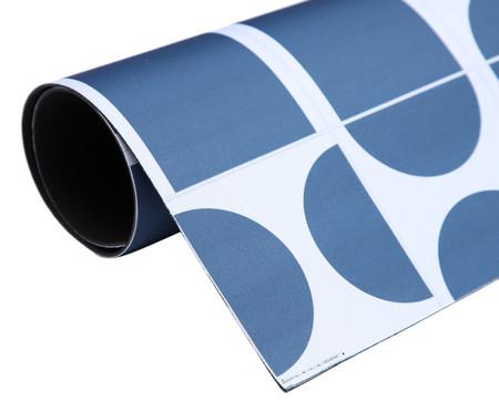 Tapete Pequeno Vinílico Bistro - Azul | WestwingNow