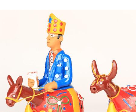 Escultura Boi e Cavalo Marinho   WestwingNow