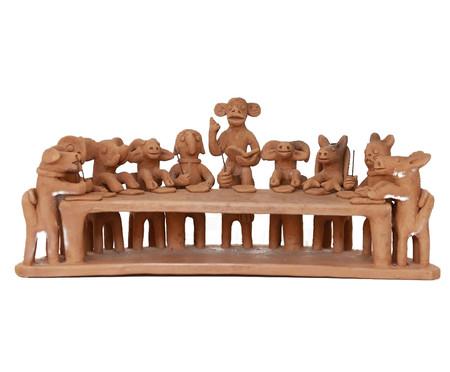 Escultura Escola de Animais Iii   WestwingNow