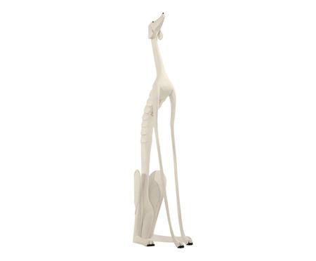 Escultura Cachorro Sentado - Branco   WestwingNow