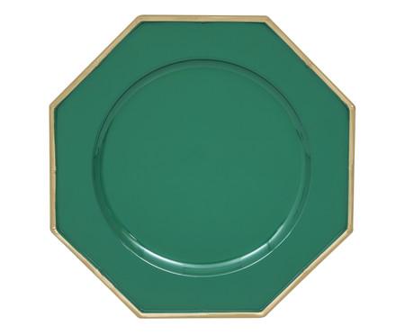 Sousplat Lyon - Verde e Dourado | WestwingNow