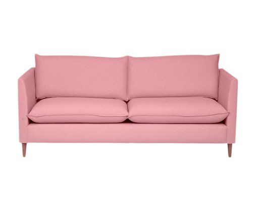 Sofá Nina - Rosa Flamingo, Rosa   WestwingNow