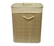 Cesto Organizador em Bambu com Tampa Essie - Natural | WestwingNow