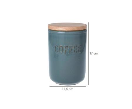 Porta-Condimentos em Cerâmica Coffee - Cinza | WestwingNow